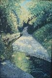 Lane, Shropshire by mark harris, Painting, Oil on Board